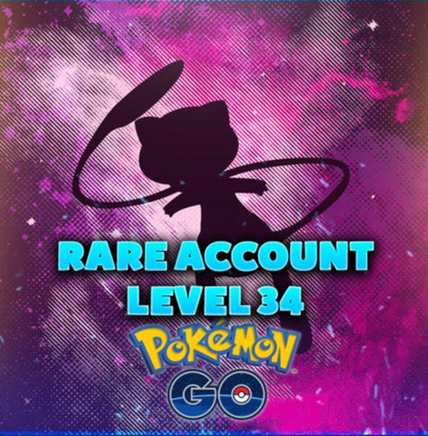 Level 34 Pokemon Go Accounts - Almost Full Pokedex, High IV, Lots of Dragonite, Lapras, & Snorlax