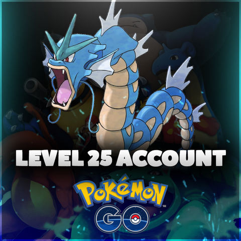 Level 25 Pokemon Go Account - High IV Pokemon, 2000+ CP Dragonite, Lapras, & Snorlax