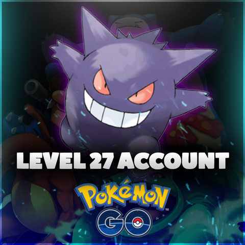 Level 27 Pokemon Go Account - High IV Pokemon, 2300+ CP Dragonite, Lapras, & Snorlax