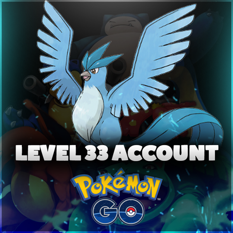Level 33 Pokemon Go Accounts - Almost Full Pokedex, Lots of Dragonite, Lapras, & Snorlax