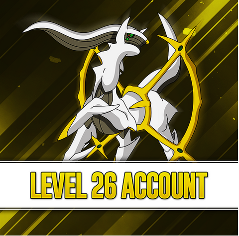 Level 26 Pokemon Go Account - High IV Pokemon, 2200+ CP Dragonite, Lapras, & Snorlax