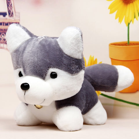 New Arrival 25cm Husky Plush Toy Simulation Dog Baby Sleeping Appease