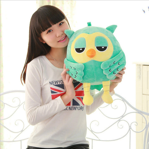 Popular Night Owl Plush Toy Baby Toys Stuffed Animal Doll 2 Colors