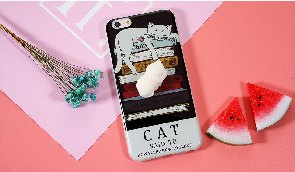 info for 2a847 e6ad7 3D Cute soft Silicone Squishy Animal Phone Cover for IPHONES
