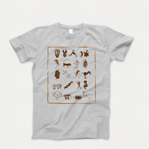 Unisex t-shirt with African accent