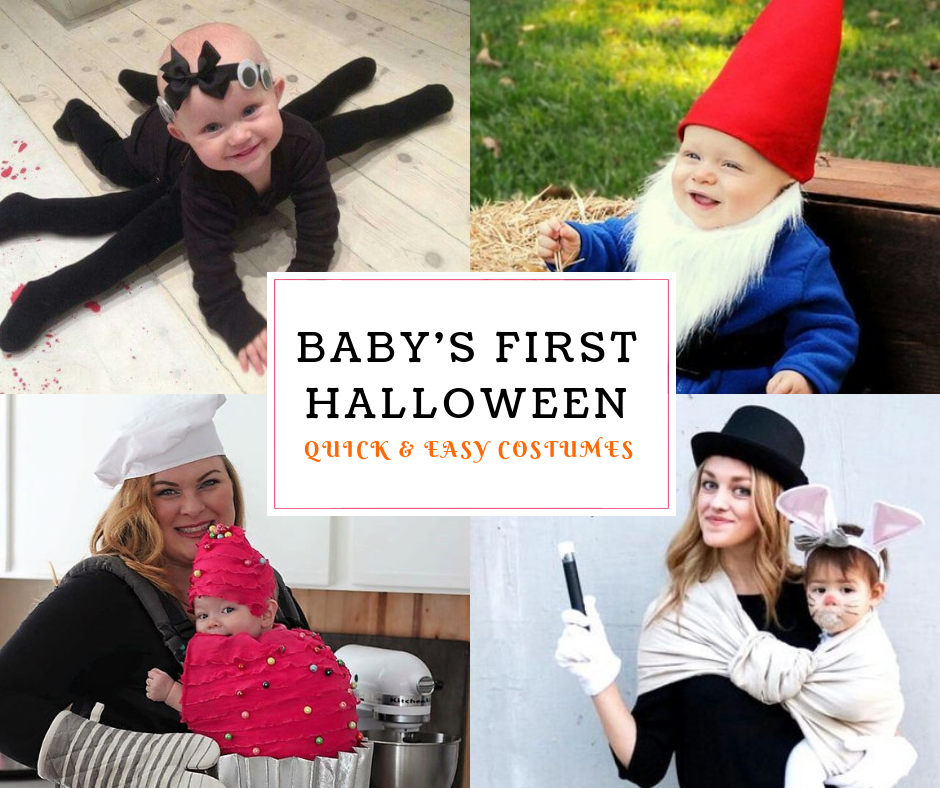 Easy Costume Ideas for Baby's First Halloween