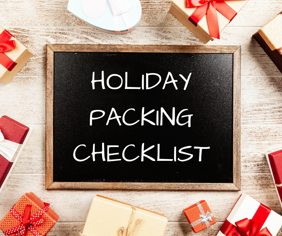 Your Holiday Packing Checklist