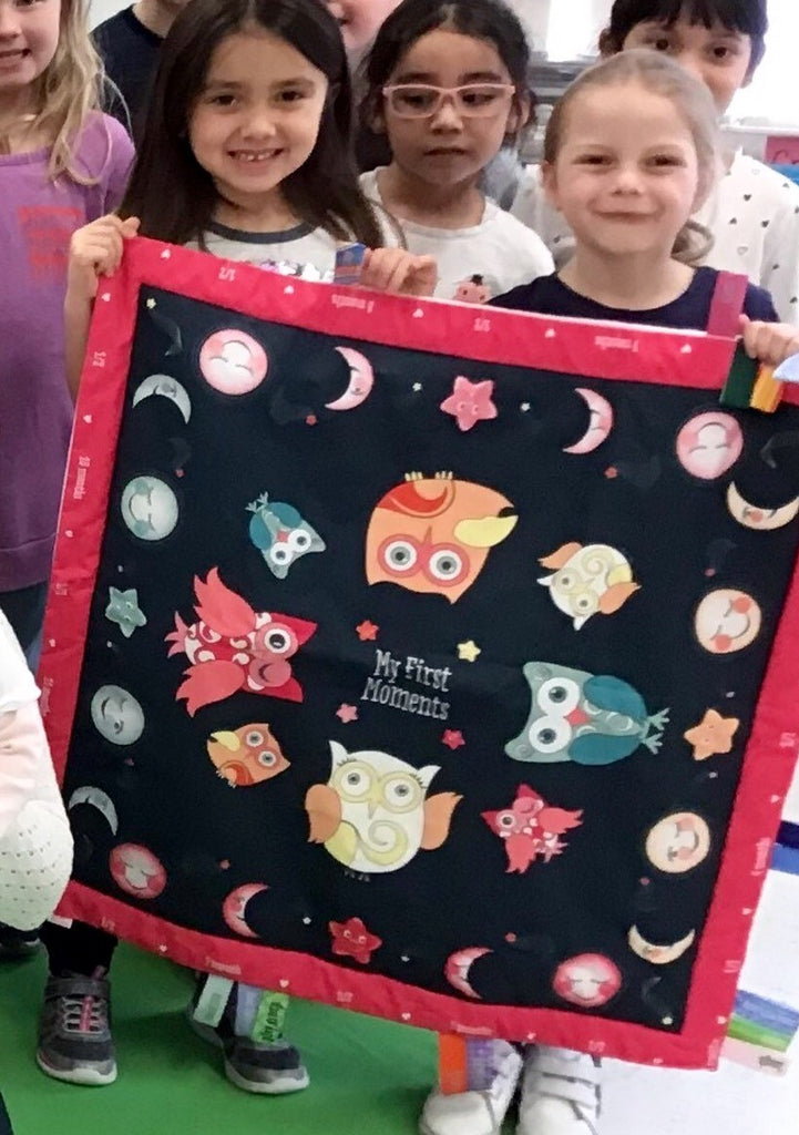 Baby Charm Blanket Creating Memories in the Classroom