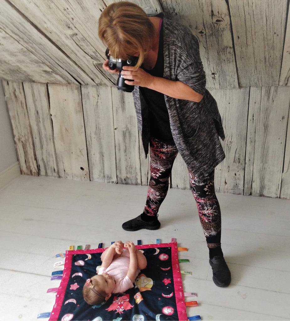 Baby Charm Blanket Photoshoot