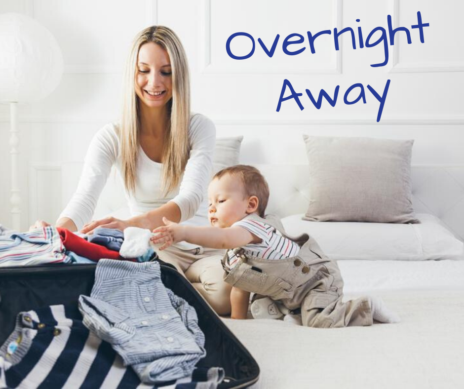 Gear Up for Baby's First Overnight Away