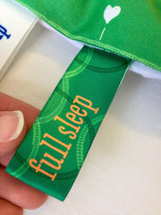 first full sleep Wee Charm milestone ribbon