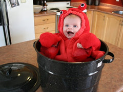 Baby's First Halloween Lobster