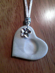 baby keepsake thumbprint necklace
