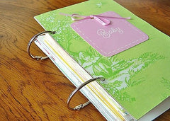 baby keepsake card album
