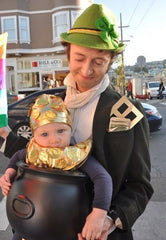Baby's First Halloween Pot of Gold