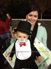 Baby's First Halloween Monopoly Man