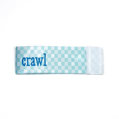 crawl Wee Charm ribbon blue