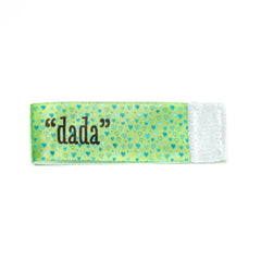 dada Wee Charm ribbon green