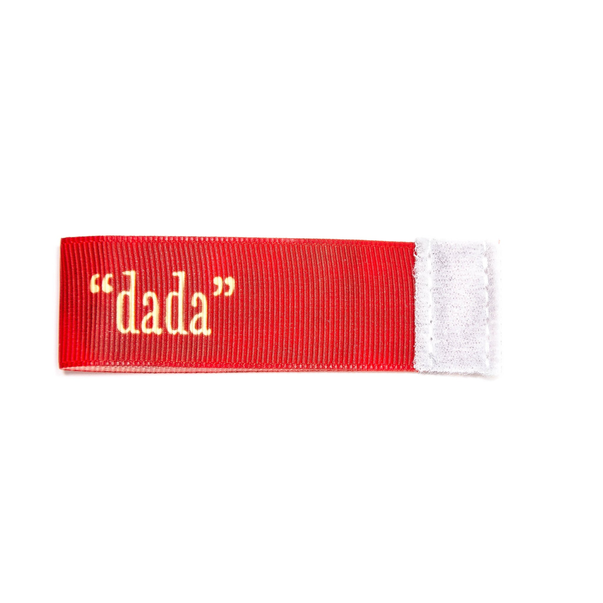 dada Wee Charm ribbon red