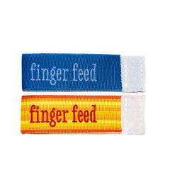 Wee Charm finger feed milestone ribbon for Baby Charm Blanket