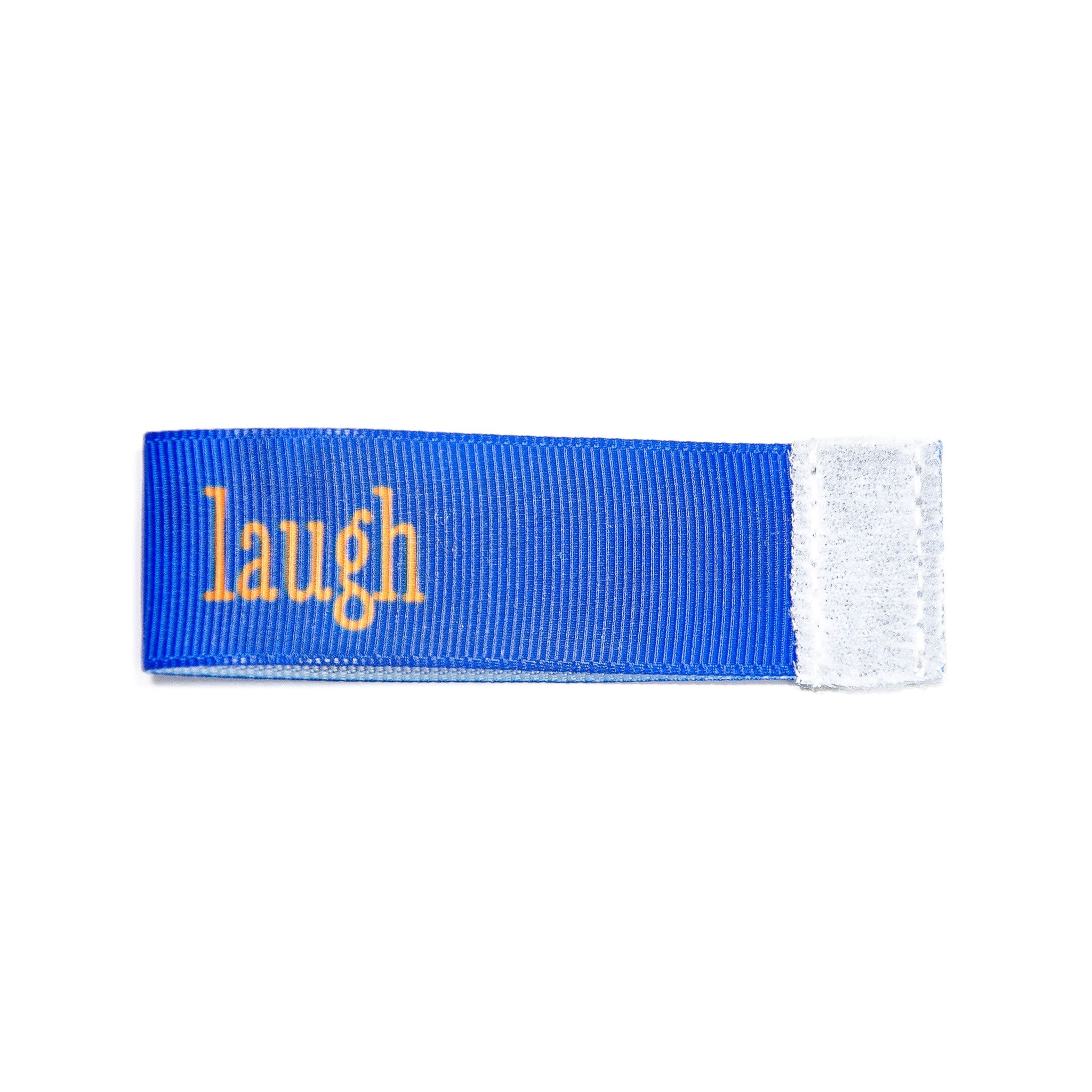 laugh Wee Charm ribbon blue