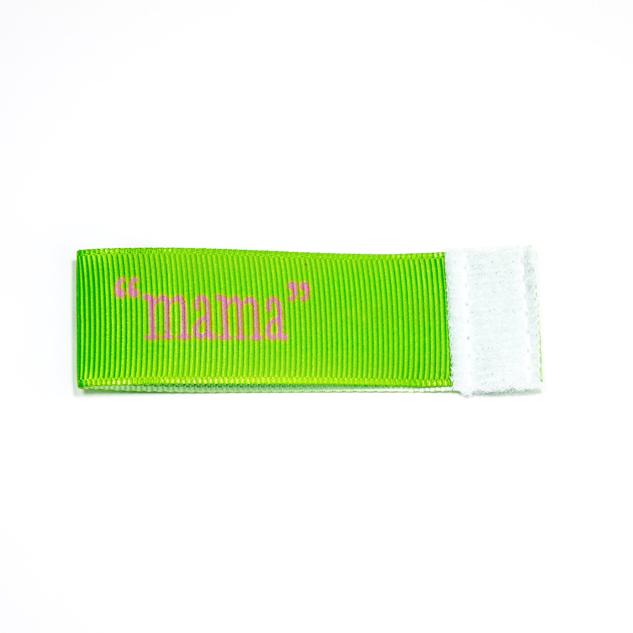 mama Wee Charm ribbon green