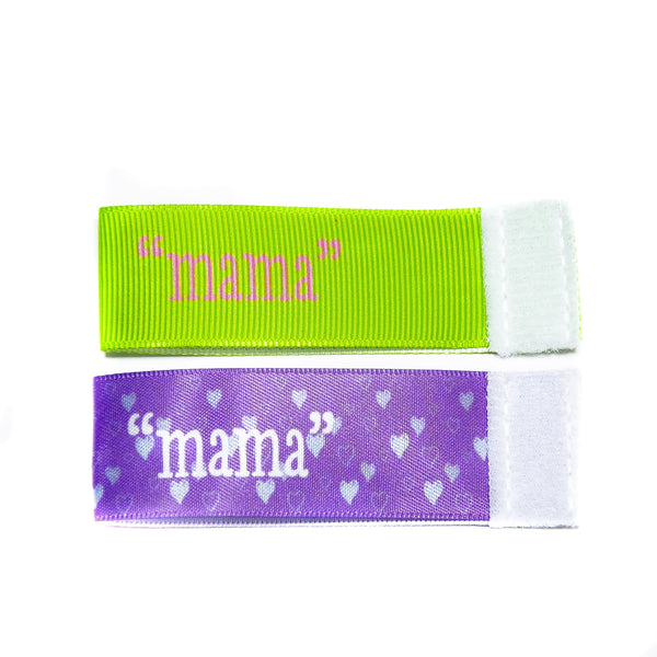 Wee Charm mama milestone ribbon for Baby Charm Blanket