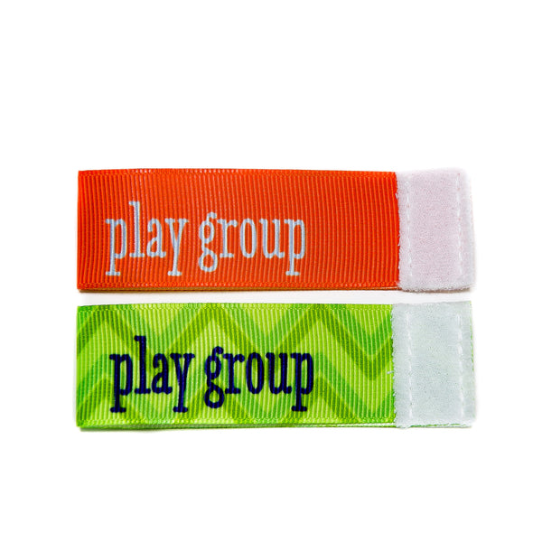 Wee Charm play group milestone ribbon for Baby Charm Blanket