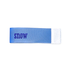 snow Wee Charm ribbon blue