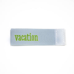 vacation Wee Charm ribbon blue