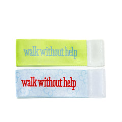 Wee Charm walk without help milestone ribbon for Baby Charm Blanket