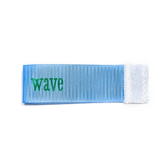 wave Wee Charm ribbon blue