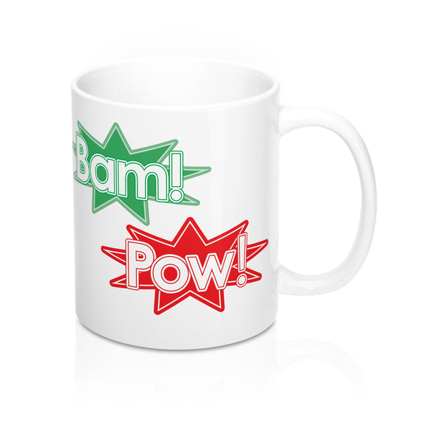 Pow! Bam! Smash The Patriarchy Mug