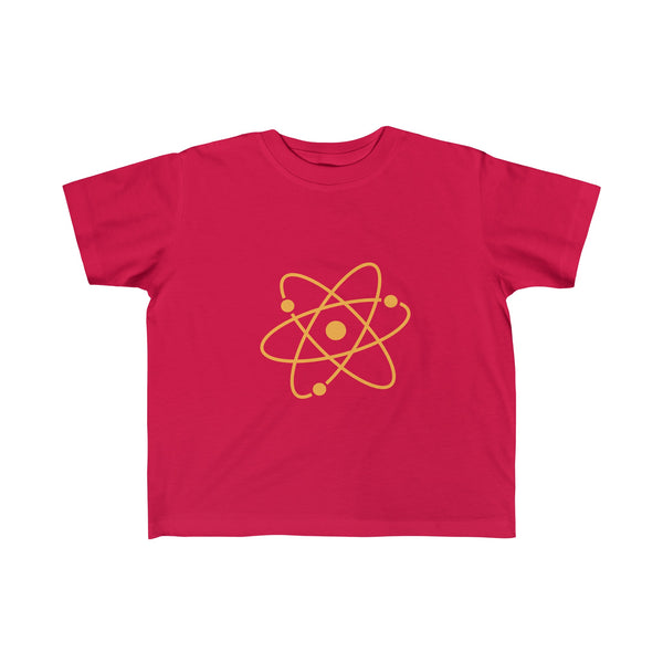 Atom Orange. Kid's Unisex Short Sleeve Tshirt