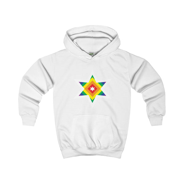 Rainbow Star. Kid's Hoodie - Smash Tees