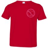 No Box (pink). Kid's Unisex Short Sleeve Tshirt
