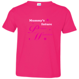 Mummy's Future PM. Kid's Unisex Short Sleeve Tshirt