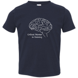 Critical Thinker in Training. Kid's Unisex Short Sleeve Tshirt