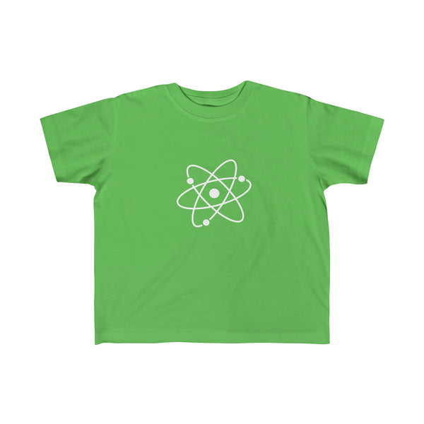Atom White. Kid's Unisex Short Sleeve Tshirt