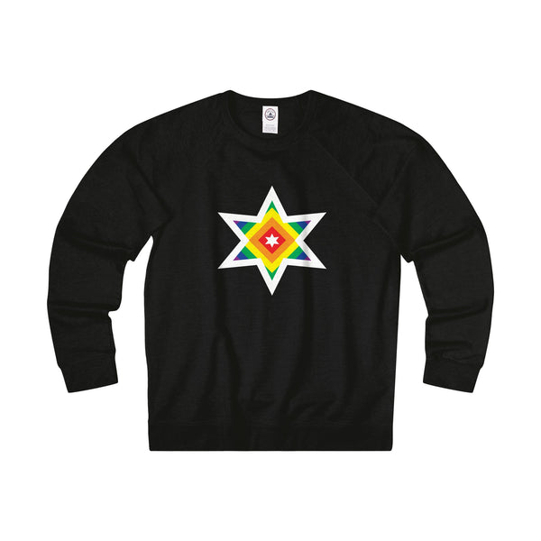 Rainbow Star. Unisex Sweatshirt - Smash Tees