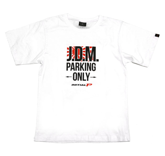 J.D.M. Parking Only T-Shirt (WHT)