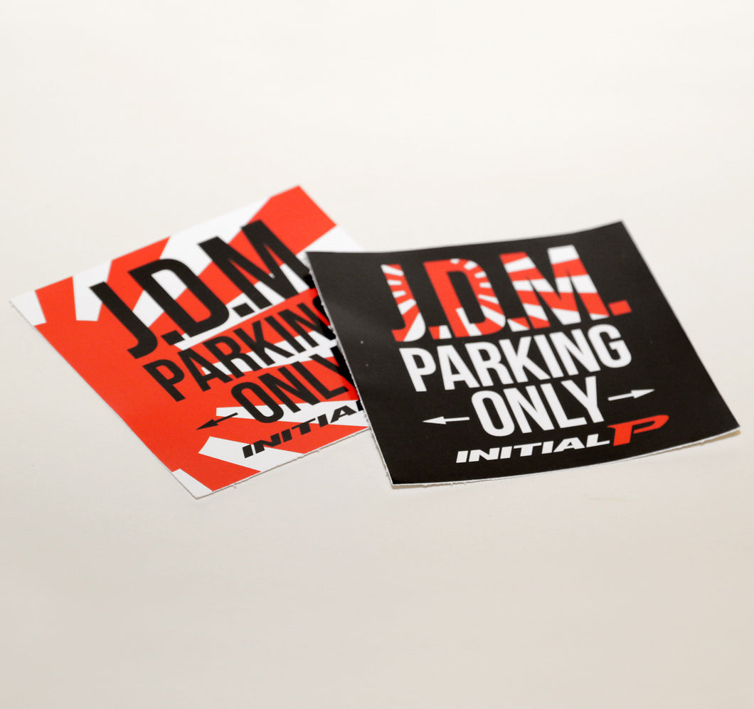 JDM Parking Only Sticker