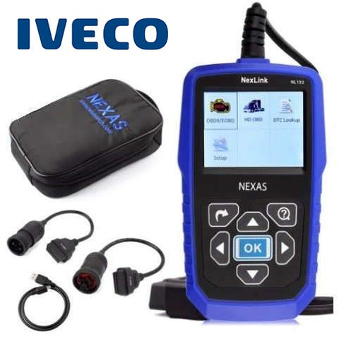 Iveco Truck/Commercial Diagnostic Scanner Fault Code Reader