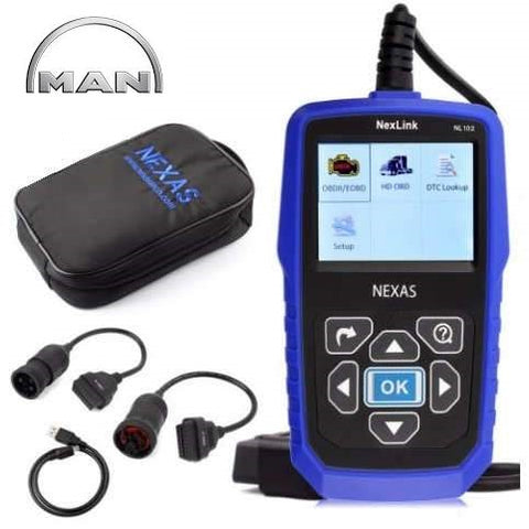 Man Truck Diagnostic Scanner Fault Code Reader