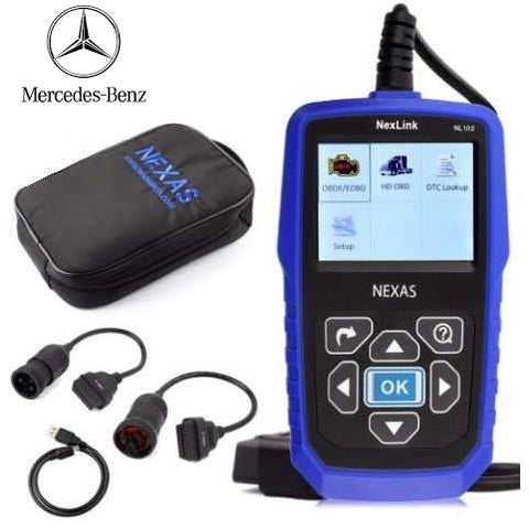 Mercedes-Benz Truck/Commercial Diagnostic Scanner Fault Code Reader