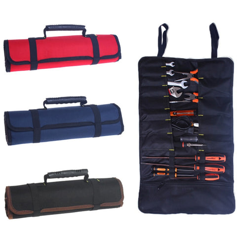 Canvas Roll & Wall Hanging Tool Bag