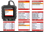 Subaru Car Diagnostic Scanner Fault Code Reader