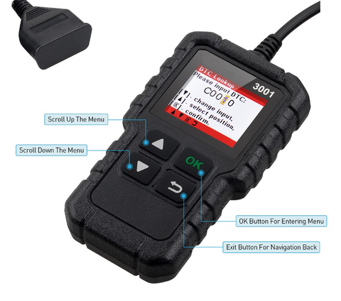 BMW Car Diagnostic OBD Scanner Fault Code Reader