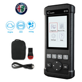 Alfa Romeo SRS/Airbag, ABS, Reader & Reset Diagnostic Scan Tool