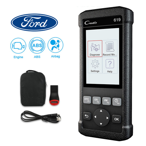Ford SRS/Airbag, ABS, Reader & Reset Diagnostic Scan Tool